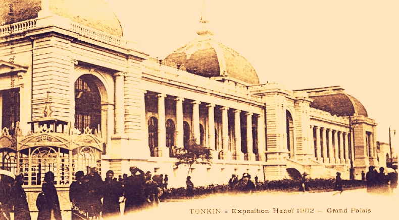 EXPOSITION d'INDOCHINE à Hanoi 1902-1903