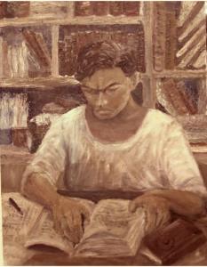 Le portrait du M. HUNG est dessiné par sa femme - holylandindochinecoloniale.com